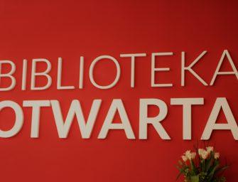 Łódź: BIBLIOTEKA OTWARTA otwarta!